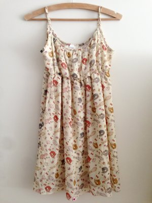 Verspieltes Kling Sommerkleid - Spagettiträger