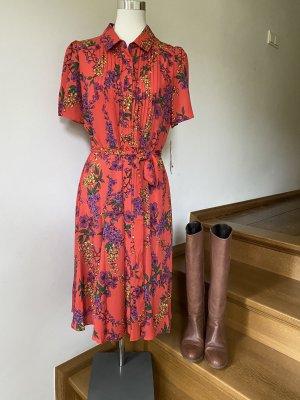 Verspieltes rotes Kleid von nanette