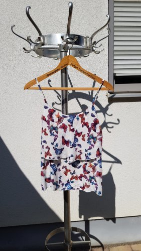 Pimkie Flounce Top multicolored polyester