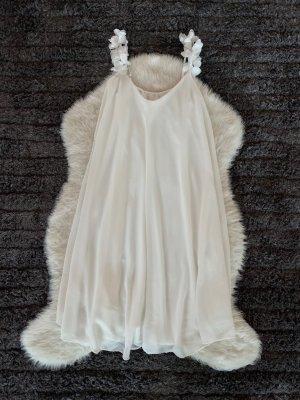 A Line Dress white