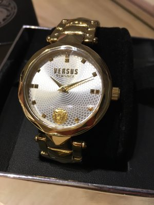 VERSUS Versace Analog Watch gold-colored