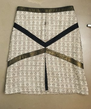 VERSUS Versace Tweed Skirt multicolored wool