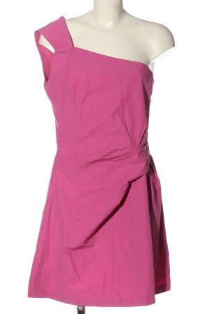 VERSUS Versace One-Shoulder-Kleid pink Elegant