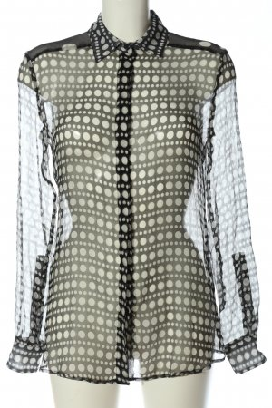 VERSUS Versace Transparenz-Bluse