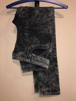 Peckott Skinny Jeans black-grey