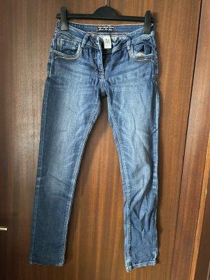 C&A Jeans cigarette bleu foncé