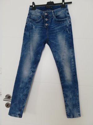 Vs. miss Jeans a vita alta blu