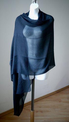 Very wandelbar: Tolles XXL-Plissee-Tuch superschöner Schal 75x200cm NP 18€