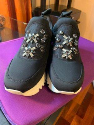 Tory Burch Sneaker slip-on nero