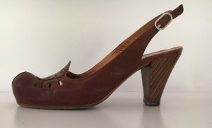 Chie Mihara Loafers brown leather