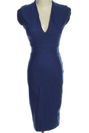 Vesper Midikleid blau Elegant