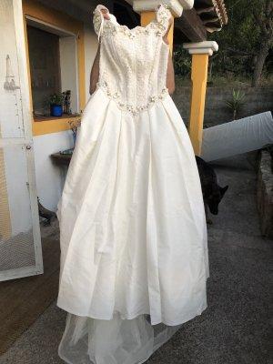 Pronovias Evening Dress cream lace