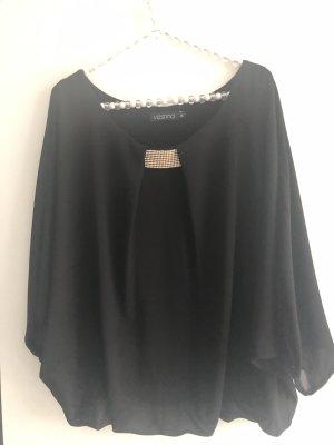 Vestino Bluse in schwarz