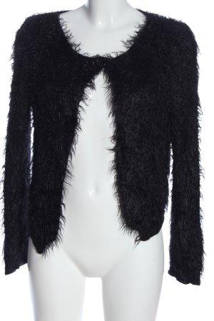 Vestino Cardigan nero stile casual