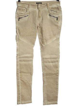 Vestino Jeans vita bassa crema stile casual