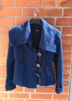 Vestino Giacca di lana blu