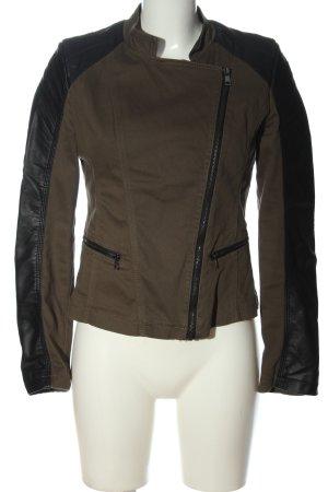 Vestino Short Jacket brown-black casual look
