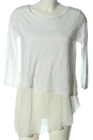 Vestino Camicetta a maniche lunghe bianco-bianco sporco stile casual