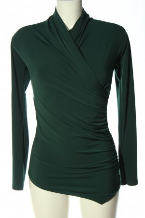 Vestino Langarm-Bluse grün Elegant