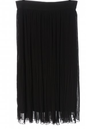 Vestino Falda larga negro look casual