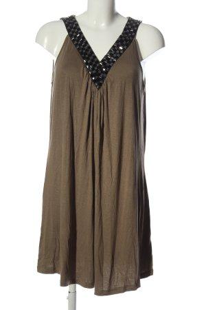 Vestino Mini Dress brown casual look