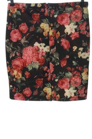 Vestino Minigonna stampa integrale stile casual