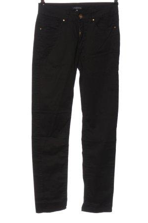 Vestino Pantalone a sigaretta nero stile casual