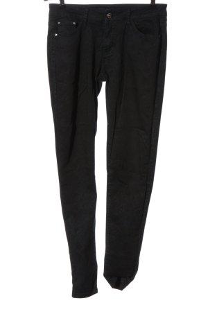 Vestino Jeans a sigaretta nero stile casual
