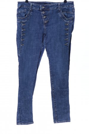 Vestino Röhrenjeans blau Casual-Look