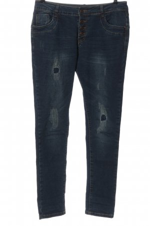 Vestino Tube Jeans blue casual look