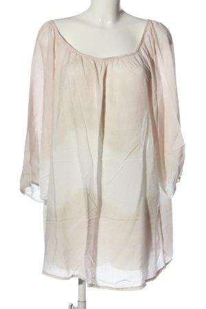 Vestino Camicetta da notte bianco sporco-crema motivo astratto stile casual