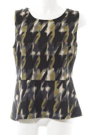 Vestino Schößchentop abstraktes Muster Elegant