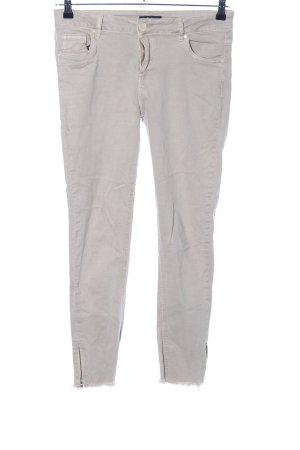Vestino Skinny Jeans hellgrau Casual-Look