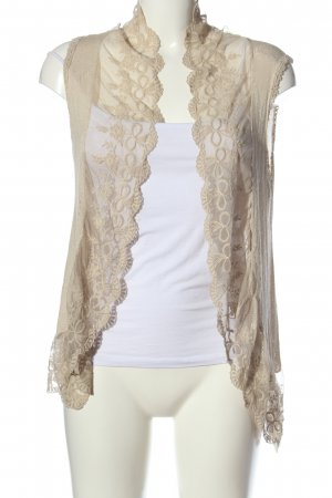 Vestino Knitted Vest nude casual look