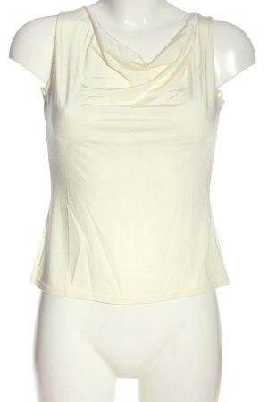 Vestino Canotta bianco sporco stile casual