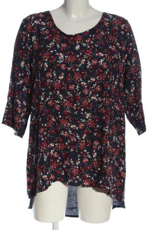 Vestino Blusa a tunica stampa integrale stile casual