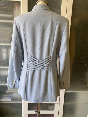 Vestino Lange blazer azuur