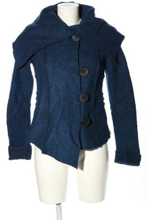 Vestino Wolljacke blau Casual-Look