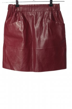 Vetiver Minirock rot Casual-Look