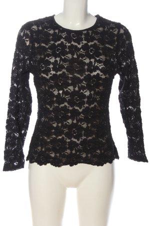Vettermann Wäsche Lace Blouse black casual look