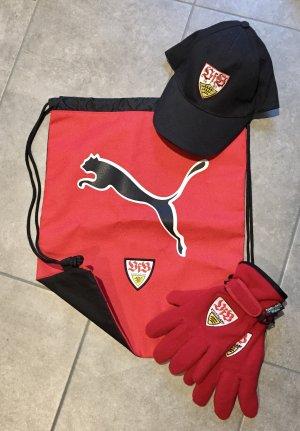 VfB STUTTGART  Fanartikel Gym Bag, Basecap, Handschuhe auch einzeln NEU