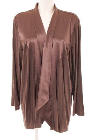 Via appia due Cardigan bronze-colored casual look