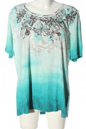 Via appia due Camicia fantasia motivo floreale stile casual