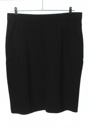 Via appia due Falda stretch negro estilo «business»