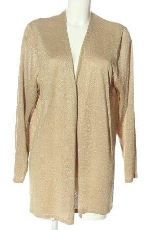 Via appia due Cardigan in maglia color carne-oro stile casual