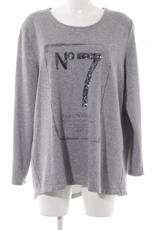 Via appia due Strickpullover meliert Casual-Look