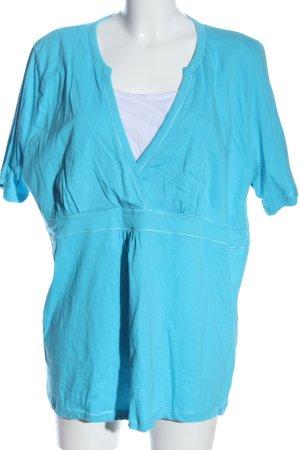 Via appia due Camicia maglia blu stile casual