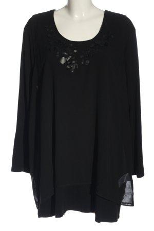 Via appia due Woven Twin Set black casual look