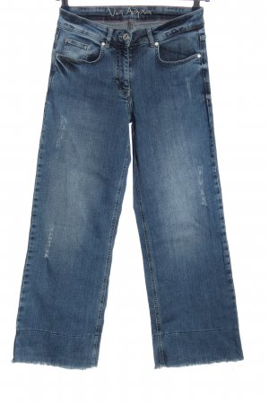 Via Appia High Waist Jeans blau Casual-Look