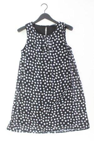 Via Appia Kleid schwarz gepunktet Größe 38
